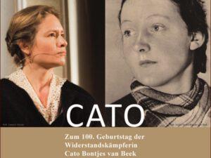 CATO – Konzertfilm und Radiosendung zum 100. Geburtstag der Widerstandskämpferin Cato Bontjes van Beek