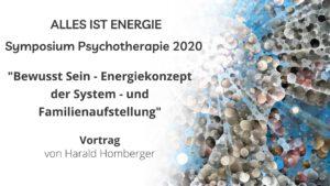 Symposium Psychotherapie 2020: Vortrag von Harald Homberger