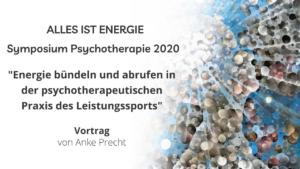 Symposium Psychotherapie 2020: Vortrag von Anke Precht